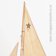 Star Pond Yacht Meteorite – Sail Detail