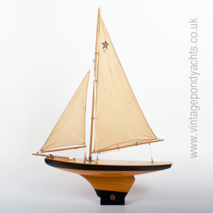 Vintage Star Pond Yacht Meteorite