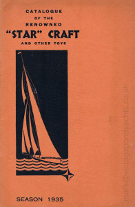 Star Yachts 1935 catalogue - front cover