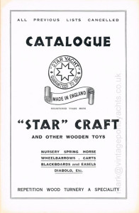 Star Yachts 1935 catalogue - page 1