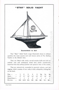 Star Yachts 1935 catalogue - page 12