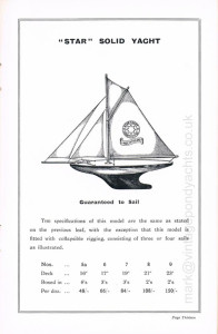 Star Yachts 1935 catalogue - page 13