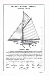 Star Yachts 1935 catalogue - page 3