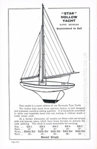 Star Yachts 1935 catalogue - page 4