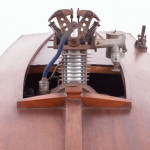 1930's Vintage Model Hydroplane - Bow Detail