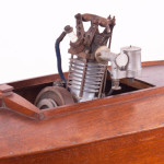 1930's Vintage Model Hydroplane - Engine Detail